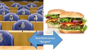 """Overheid versus """"burgers"""""""