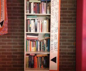 Openbare boekenkast op Ruimtekoers.