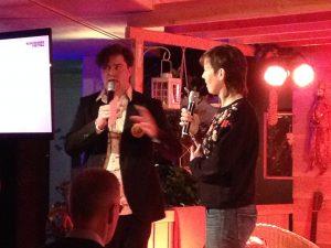 Ruimtekoers debat met Olga Lozeman.