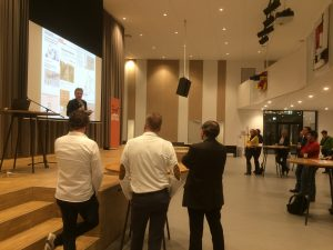 Presentatie door Joop Hofman.