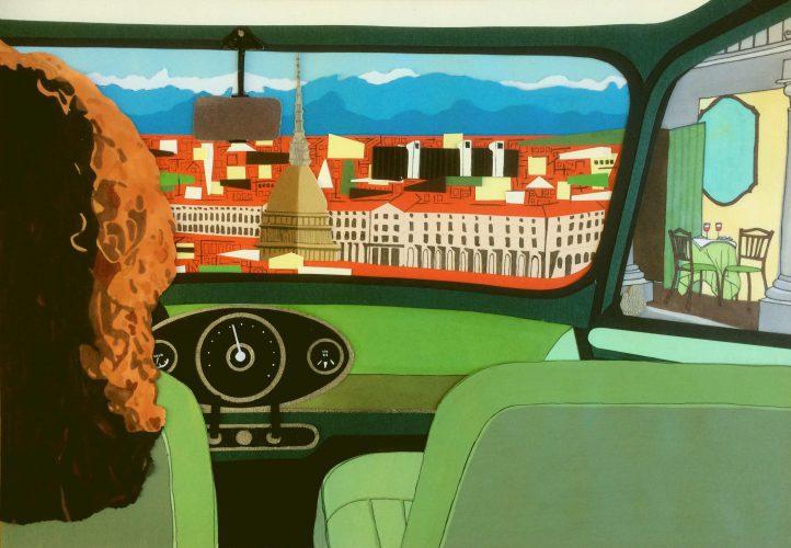 Ze komt oorspronkelijk uit Turijn, reed vroeger in een groene klassieke Mini Cooper en houdt van een rood wijntje en lekker Italiaans eten.