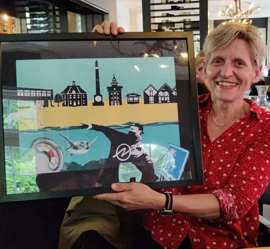 Passieportret Birgit